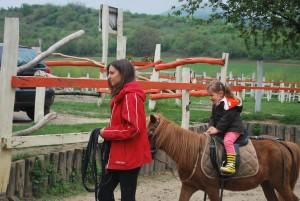 lovas séta